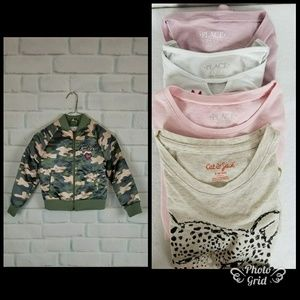 Bundle Girls  Pullover And Girl Squad Jacket